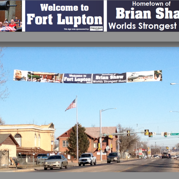 World Strongest Man Banner
