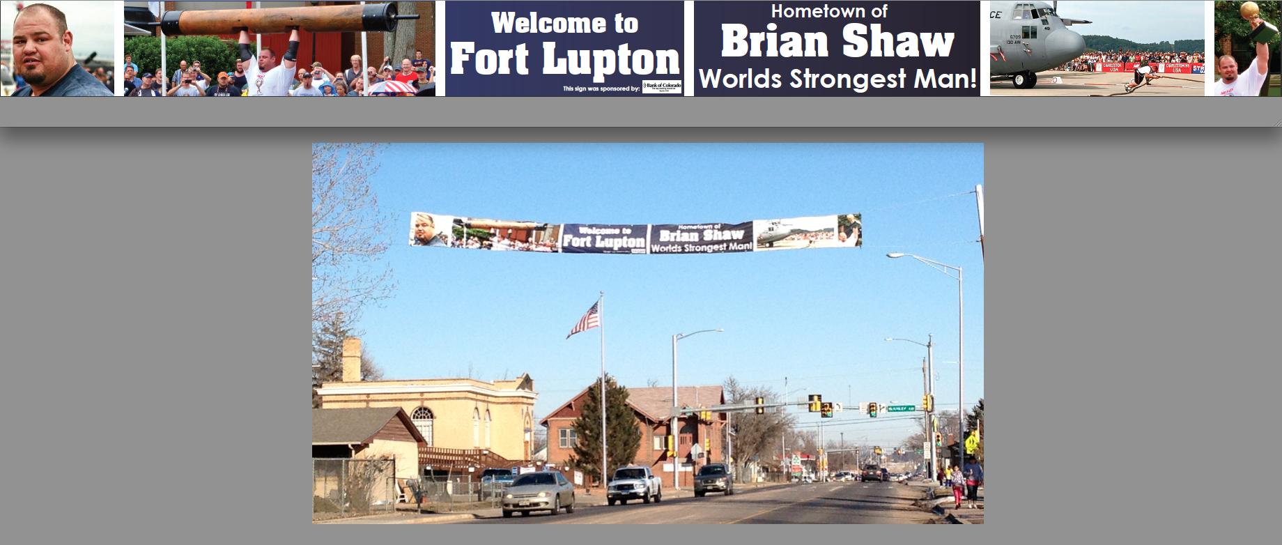 World Strongest Man Banner