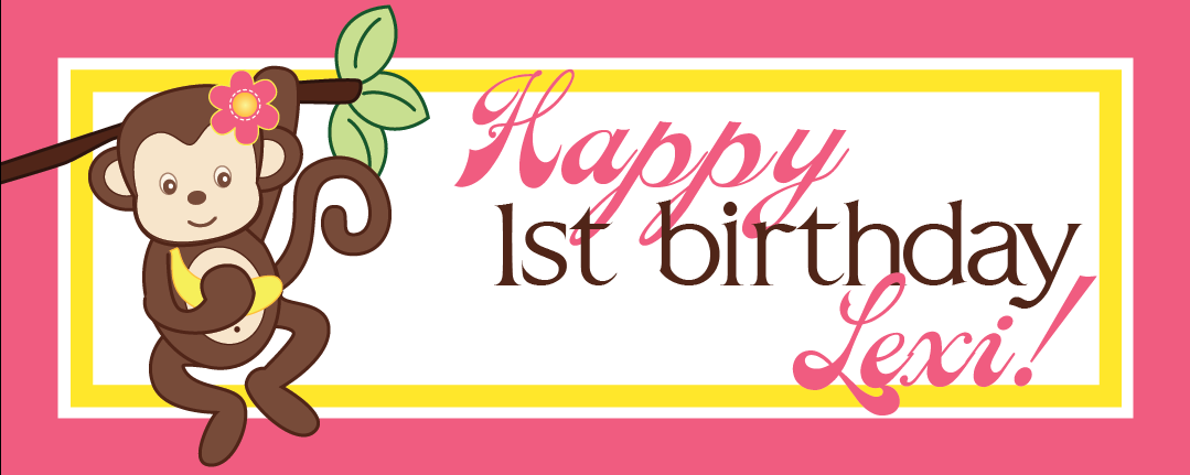 Lexi's Birthday banner
