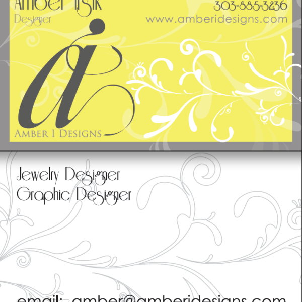 ai designs business cards round 1