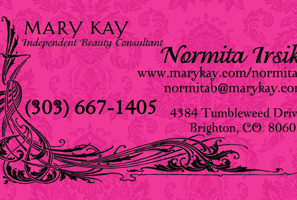 Normita MK business card